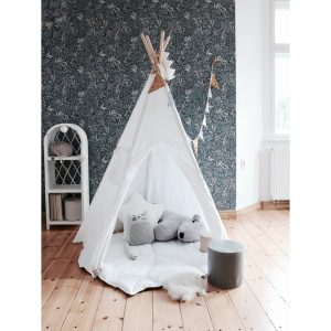 tipi tent white kids